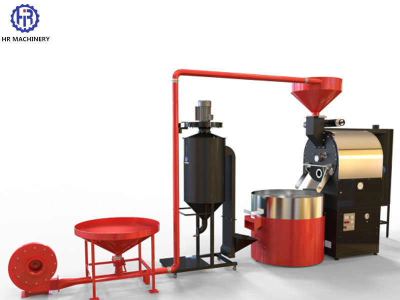 120 KG COFFEE ROASTER GAS